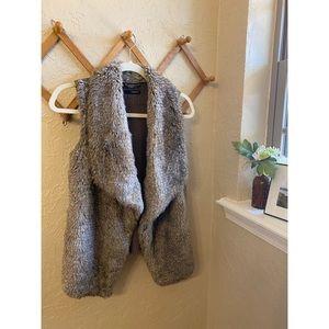 ⋒ Maurices Fur Vest